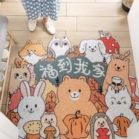 锦凡 卡通地毯门垫 45*75cm