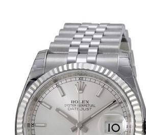 ROLEX 劳力士 日志型系列 116234SSJ 男款机械表 36mm 银色 不锈钢 银色 不锈钢