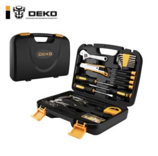 DEKO 代高 多功能实用家用工具箱套装 100件套