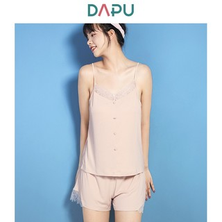 DAPU AE2F12216 吊带短裤家居服套装