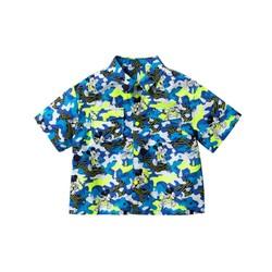迷你巴拉巴拉男宝宝短袖衬衫2020夏装儿童迪士尼米奇衬衫 *5件