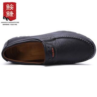 鮟鱇 休闲中老年父亲男单老北京布鞋软底软面有大码45 46 AK35868 黑色 44