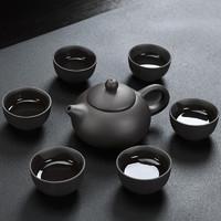 功夫茶具一壶六杯共7件套