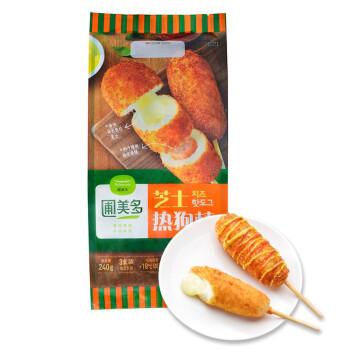 圃美多 芝士热狗棒 240g(80g*3 休闲 网红食品 韩国零食)