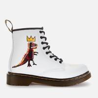Dr. Martens X Basquiat 联名款 1460 8孔 马丁靴 童鞋
