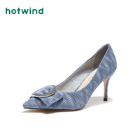 热风HotwindH04W9711女士高跟鞋 06兰色 39
