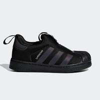 adidas 阿迪达斯 SUPERSTAR 360 I  CG6579 三叶草 女童经典鞋 黑色 21