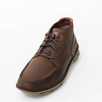 CAT 卡特 P723615I3UDC14 牛皮革休闲靴 棕色 41