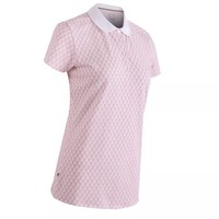 DECATHLON 迪卡侬 女士POLO衫 159651 雪白/粉红色 XS