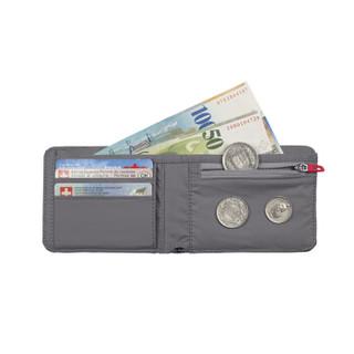 MAMMUT/猛犸象 Flap Wallet Mé 男女经典通用短款折叠钱包 深熔岩红色 均码