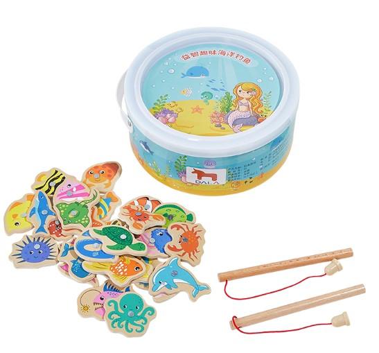 DALA 达拉  儿童钓鱼玩具 28鱼 2杆 盒装