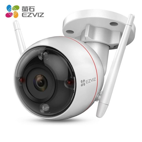 EZVIZ 萤石 C3W 全彩增强版 监控摄像头
