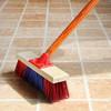 谋福 06 地板刷宾馆硬毛刷子清洁长柄地刷 浴室长木柄清洁刷 清洁刷子【地板刷宾馆硬毛刷(25cm)】