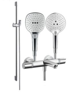 Hansgrohe 汉斯格雅 飞雨Select S120 3速节水型恒温浴缸龙头套餐
