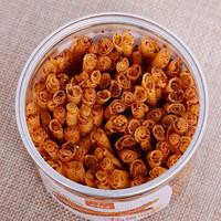 君仔卷面筋罐装辣条零食麻辣烤面筋休闲食品儿时怀旧香辣小吃 香辣味五罐
