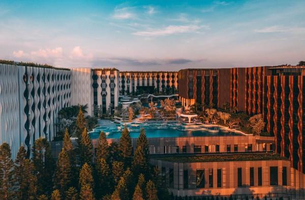 有效期至明年6月!新加坡悦乐圣淘沙酒店 豪华房1晚(含双早+升级至海景豪华房)