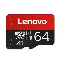 聚划算百亿补贴:Lenovo 联想 microSDXC UHS-I U3 A1 TF存储卡 64GB