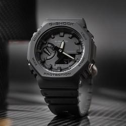 卡西欧手表男限量g-shock八角形双显防水运动潮流男士手表ga-2100 *2件