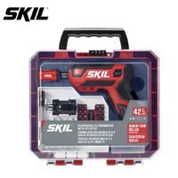SKIL 世纪 5618 家用充电式螺丝刀42件套 4v
