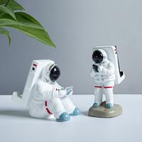 太空人手机支架宇航员苹果iPad支架创意桌面摆件礼物平板座懒人支架看电视追剧神器支撑座iPhone 太空人模型