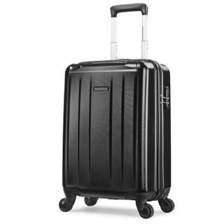美旅拉杆箱 20英寸行李箱静音万向轮防刮耐磨极简时尚男女旅行箱 密码锁TJ9登机箱黑色