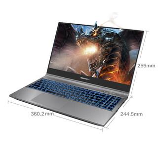 MECHREVO 机械革命 蛟龙 15.6英寸 笔记本电脑 (灰色、锐龙R7-4800H、16GB、512GB SSD、GTX 1650)