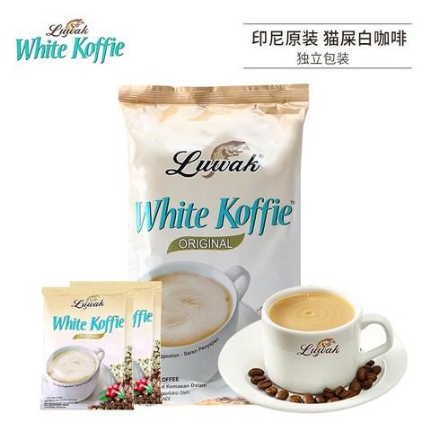 Luwak White Koffie 露哇白咖啡 Luwak 露哇 速溶猫屎白咖啡粉 200g