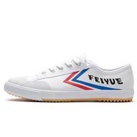 DaFuFeiyue 大孚飞跃 系带平底男士休闲鞋布鞋 DF/1-331 白红蓝布头 34(偏大一码)