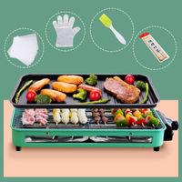 尚烤佳 电烧烤炉 电烤盘 家用无烟不粘电烤炉 烤串机 铁板烧 DKS-301