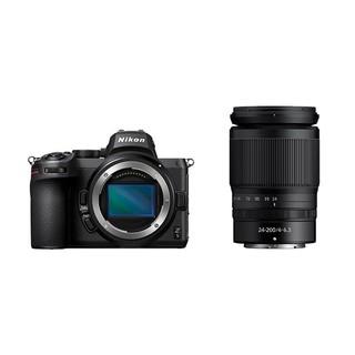 Nikon 尼康 Z5  全画幅微单相机 VR套机 24-200mm f/4-6.3