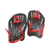 英发 游泳手蹼提高游泳技术训练习划水掌助泳游泳装备 黑色 S