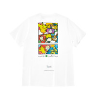 PEACEBIRD 太平鸟 宝可梦联名系列男士卡通胶印圆领短袖T恤B2DAA3F71