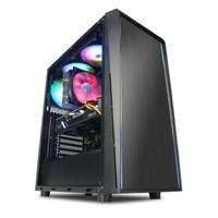 宁美 魔眼枪神 台式机 黑色(酷睿i5-10400F、RTX 3060 12G、16GB、256GB SSD、风冷)