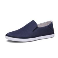金利来(goldlion)男鞋透气舒适休闲鞋户外运动皮鞋920811026RQB-蓝色-42