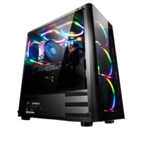 宁美国度 N3E-565T 六核i5 8500/1050Ti/8G DDR4/120G M.2/台式DIY组装电脑主机/吃鸡游戏主机/京东自营UPC