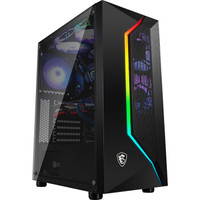MSI 微星 MAG 玩派2 中塔电脑机箱 黑色