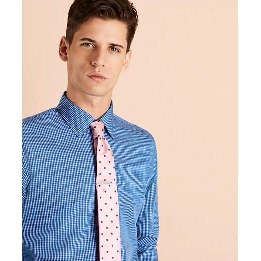 Brooks Brothers 布克兄弟 Windowpane Nine-to-Nine 男士棉质衬衫