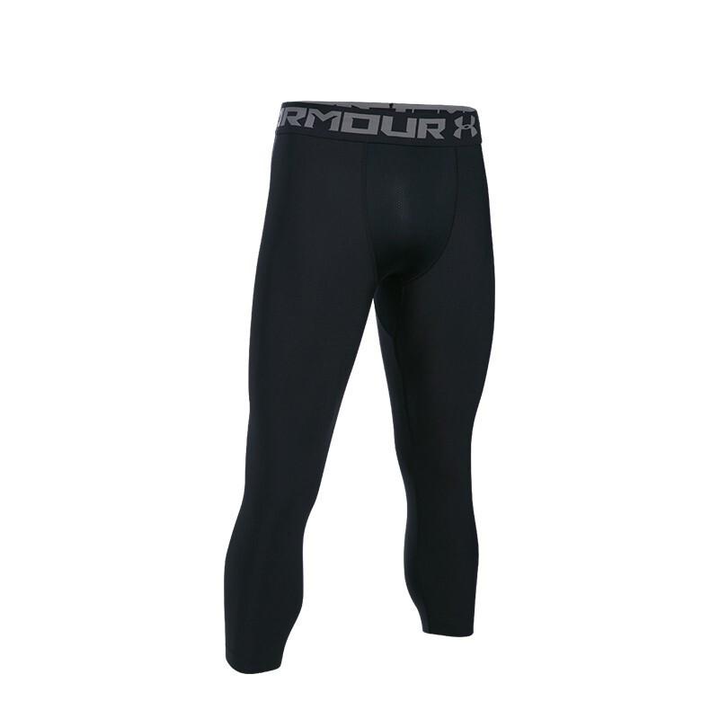 UNDER ARMOUR 安德玛 HeatGear® Armour 1289574-001 男士健身裤 黑色 M