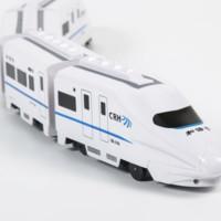 YUSHIXING俞氏兴 小号和谐号动车组升级版模型(4节装)+送电池+螺丝刀