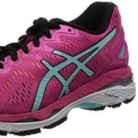 ASICS 亚瑟士 GEL-KAYANO 23 跑鞋 粉红/水蓝色 34