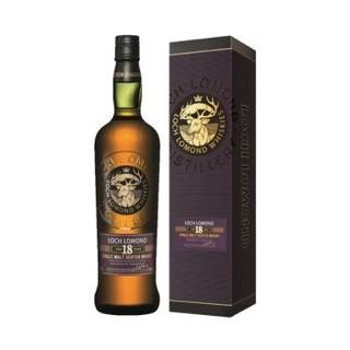 Loch Lomond 罗曼湖 18年 高地产区 苏格兰单一麦芽威士忌 700ml