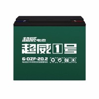SUPERB 超威 60V20AH 6-DZF-20 经典款电池