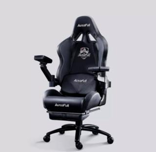 AutoFull 傲风 机械臂电竞椅 黑色