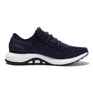 adidas 阿迪达斯 PureBOOST 2.0 中性跑鞋 BA8898 蓝色 42