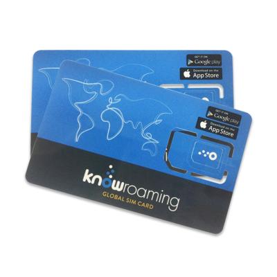 0月租 不充值也可长期有效 KnowRoaming全球电话卡