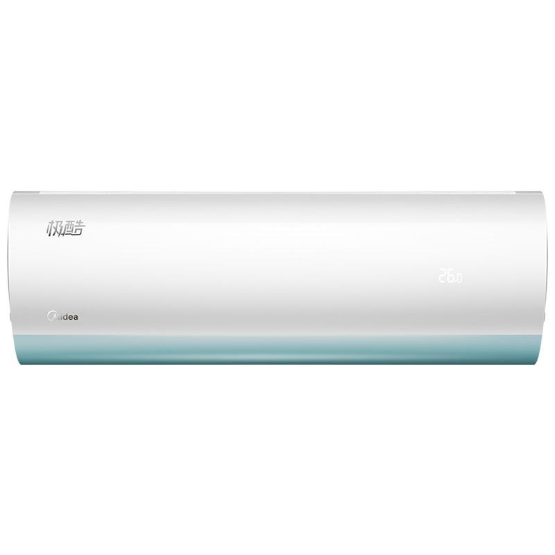 Midea 美的 极酷系列 KFR-26GW/N8VHA1 大1匹 变频 壁挂式空调 极地白