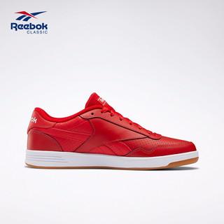 Reebok 锐步 TECHQUE T 中性复古休闲鞋 FU7857 红色 34.5