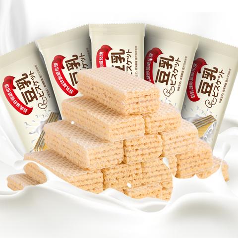 LaoXianShengFood 老先生食品 豆乳威化饼干 200g