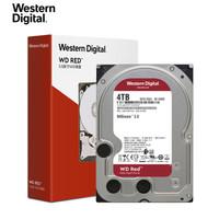 Western Digital 西部数据 红盘 台式机NAS硬盘 (4TB、5400rpm、256MB) WD40EFAX