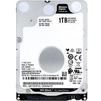 Western Digital 西部数据 黑盘 笔记本硬盘 (1TB、7200rpm、64MB) WD10SPSX